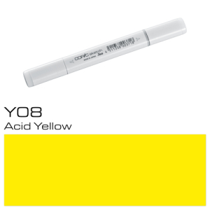 COPIC sketch Y08 Acid Yellow
