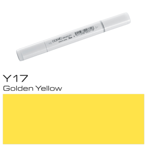 COPIC sketch Y17 Golden Yellow