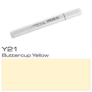 COPIC sketch Y21 Buttercup Yellow