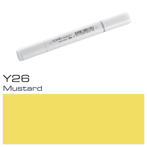COPIC sketch Y26 Mustard