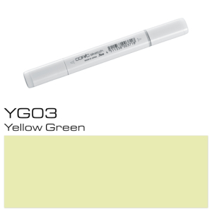 COPIC sketch YG03 Yellow Green