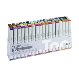 Copic sketch 72er Set A