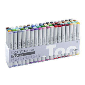 COPIC sketch 72er Set B