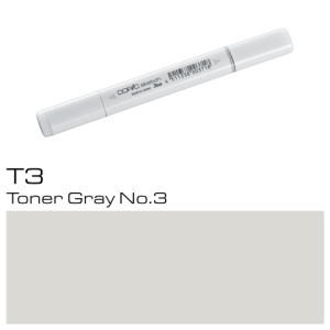 COPIC Sketch Marker T3 - Toner Gray No. 3