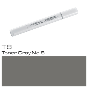 COPIC Sketch Marker T8 - Toner Gray No. 8