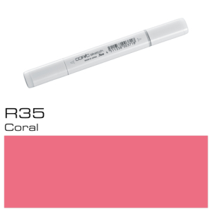 COPIC sketch R35 Coral