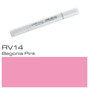 COPIC sketch RV14 Begonia Pink