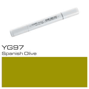 COPIC Sketch Marker YG97 - Spanish Olive