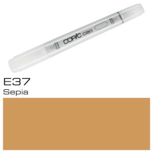 COPIC Ciao Marker E37 - Sepia