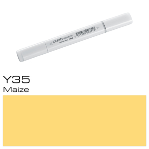 COPIC sketch Y35 Maize