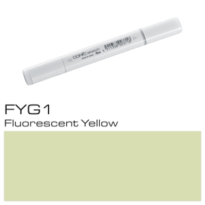 COPIC sketch FYG1 Fluorescent Yellow