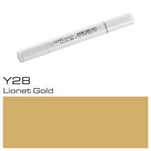 COPIC sketch Y28 Lionet Gold