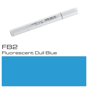 COPIC Sketch Marker FB2 - Dull Blue