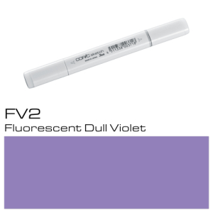 COPIC Sketch Marker FV2 - Dull Violet