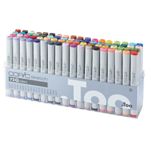 Copic Sketch 72er Set D