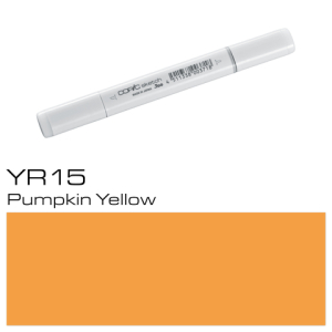 COPIC sketch YR15 Pumpkin Yellow