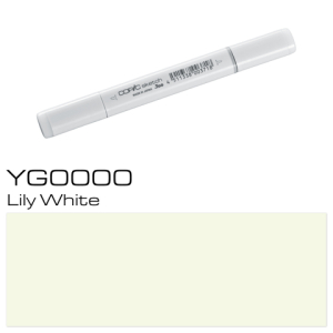COPIC sketch YG0000 Lily White