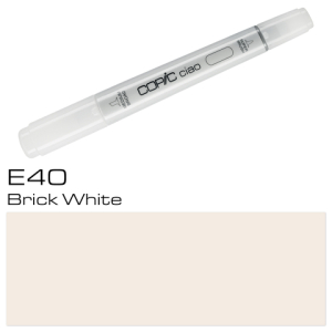 COPIC ciao E40 Brick White