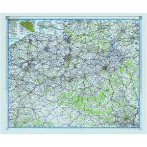 Legamaster PROFESSIONAL Landkarte, Tafel magnethaftend,...