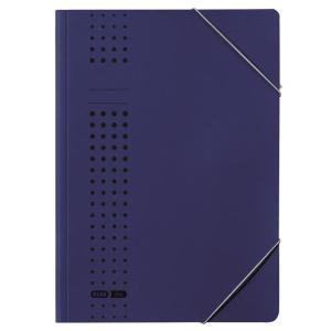 ELBA Eckspanner chic A4 Karton dunkelblau