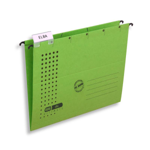 ELBA Hängemappe chic ULTIMATE, grün, 5er-Pack
