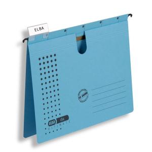 Elba Hängehefter chic ULTIMATE A4, blau, 5er-Pack
