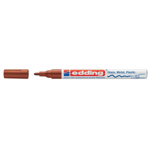 edding 751 Glanzlackmarker - 1-2 mm - braun