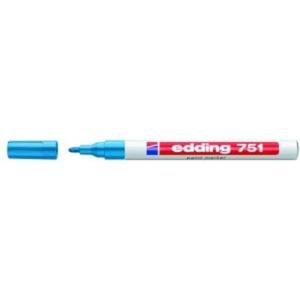 edding 751 Lackmarker - 1-2 mm - hellblau