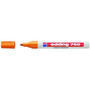 edding 750 Lackmarker - 2-4 mm - orange