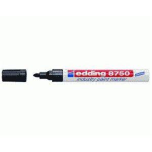 edding 8750 Industrie-Lackmarker - 2-4 mm - schwarz