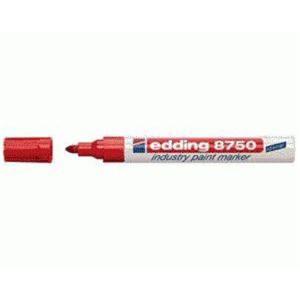 edding 8750 Industrie-Lackmarker - 2-4 mm - rot