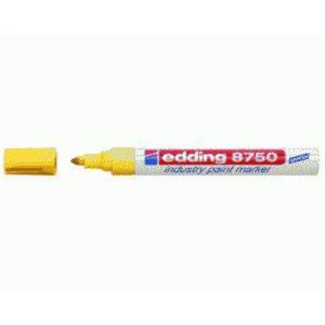 edding 8750 Industrie-Lackmarker - 2-4 mm - gelb