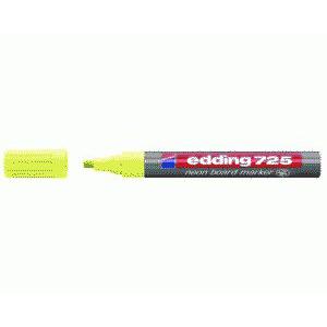 edding 725 Neon-Boardmakrer - Keilspitze - 2-5 mm - neongelb
