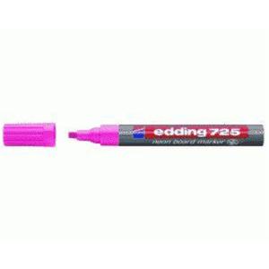 edding 725 Neon-Boardmakrer - Keilspitze - 2-5 mm - neonrosa