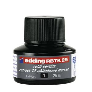 edding RBTK25 Nachfülltinte Boardmarker - schwarz -...