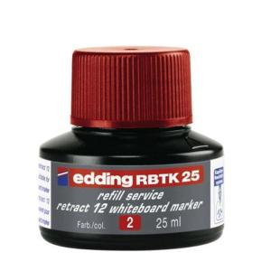 edding RBTK25 Nachfülltinte Boardmarker - rot - 25...