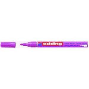 edding 751 Glanzlackmarker - 1-2 mm - pink-metellic