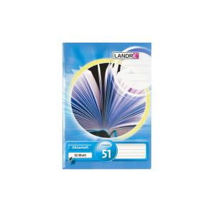 Landré Oktavheft - DIN A6 - Lineatur 51 - 32 Blatt