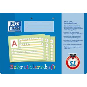 Oxford Schreiblernheft - DIN A4 quer - Lineatur SL - 16...