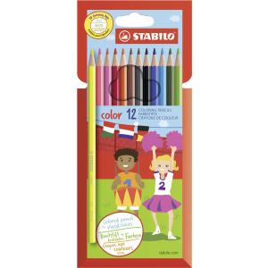 STABILO color Buntstift - 12er Set