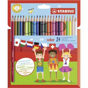 STABILO color Buntstift - 24er Set
