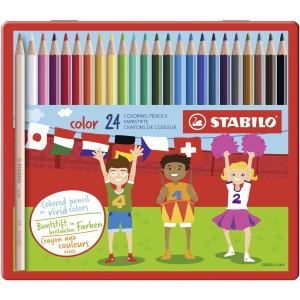 STABILO color Buntstift - 24er Metalletui