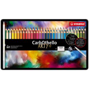 STABILO CarbOthello Pastellkreidestift - 60er Metalletui