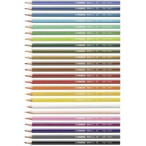 STABILO GREENcolors Buntstift - 24er Set