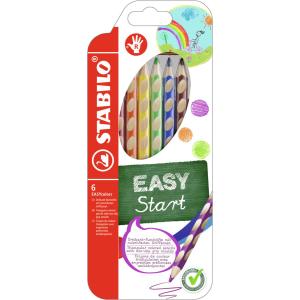 STABILO EASYcolors - ergonomischer Dreikant-Buntstift - 6...