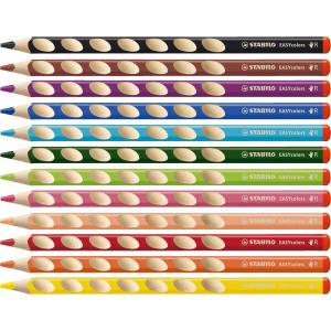 STABILO EASYcolors - ergonomischer Dreikant-Buntstift -...
