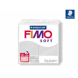 STAEDTLER FIMO soft 8020 Modelliermasse - delfingrau - 57 g