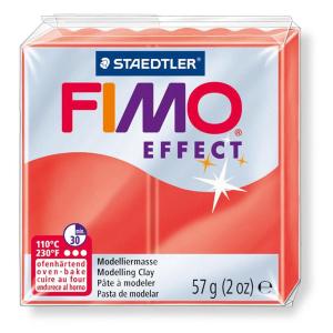 STAEDTLER FIMO effect 8020 Modelliermasse - rot...