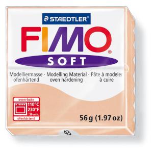 STAEDTLER FIMO soft 8020 Modelliermasse - haut hell - 57 g