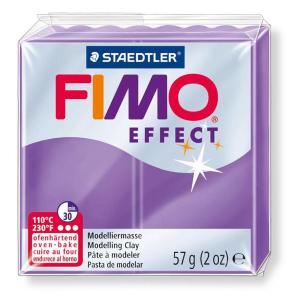 STAEDTLER FIMO effect 8020 Modelliermasse - lila...